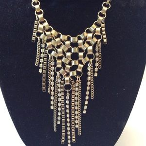 JEWELMINT CHAINMAILE STATEMENT NECKLACE